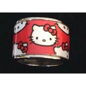 NEW Hello Kitty Ring Sanrio Kimora Lee Simmons 3J